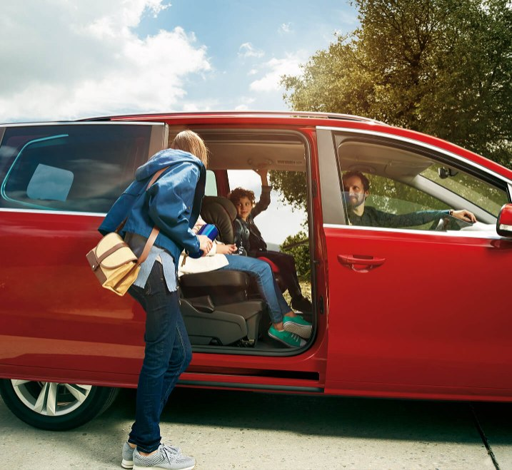 SEAT Alhambra - Electric sliding door