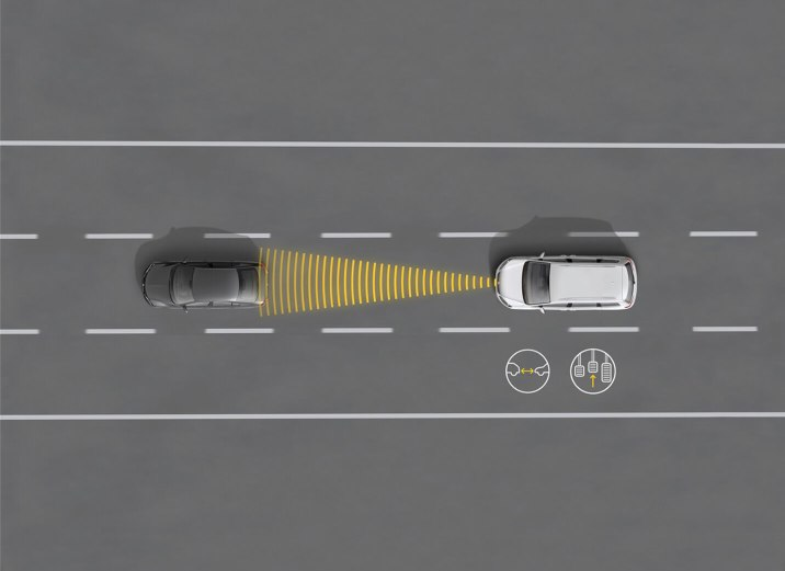 SEAT Alhambra - Collision detection