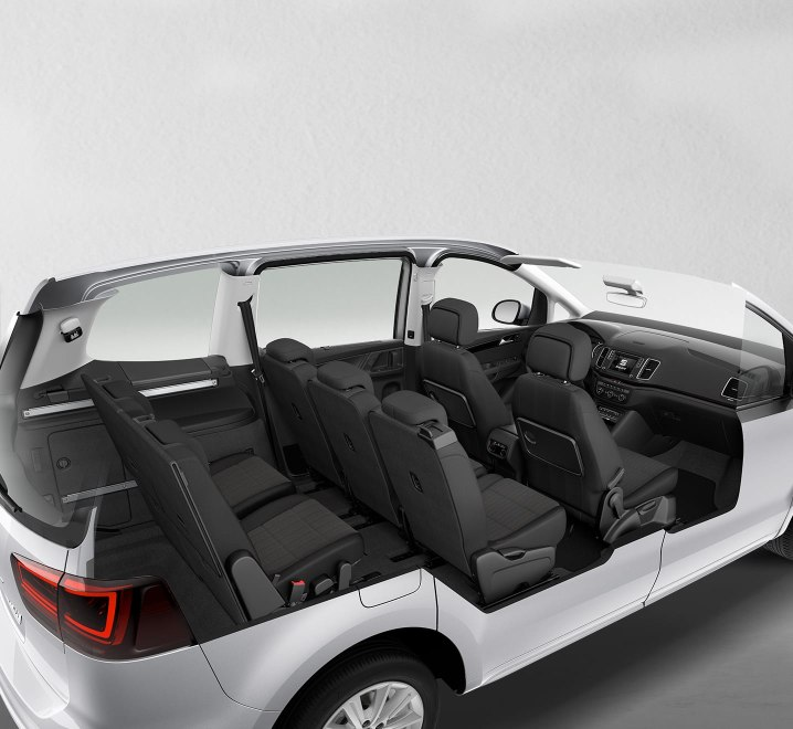 SEAT Alhambra - Interior layout