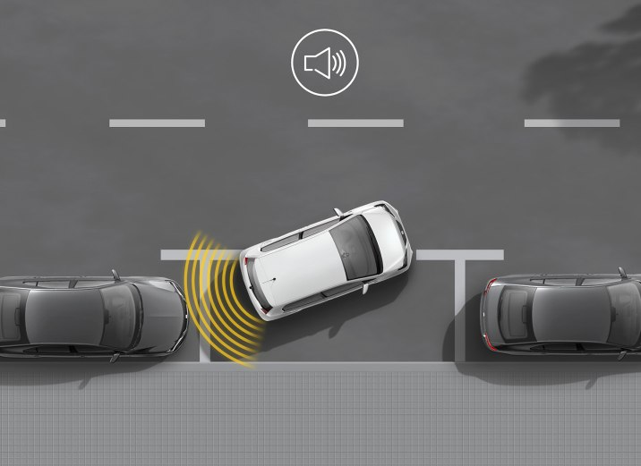 SEAT Mii Electric - Parking sensors