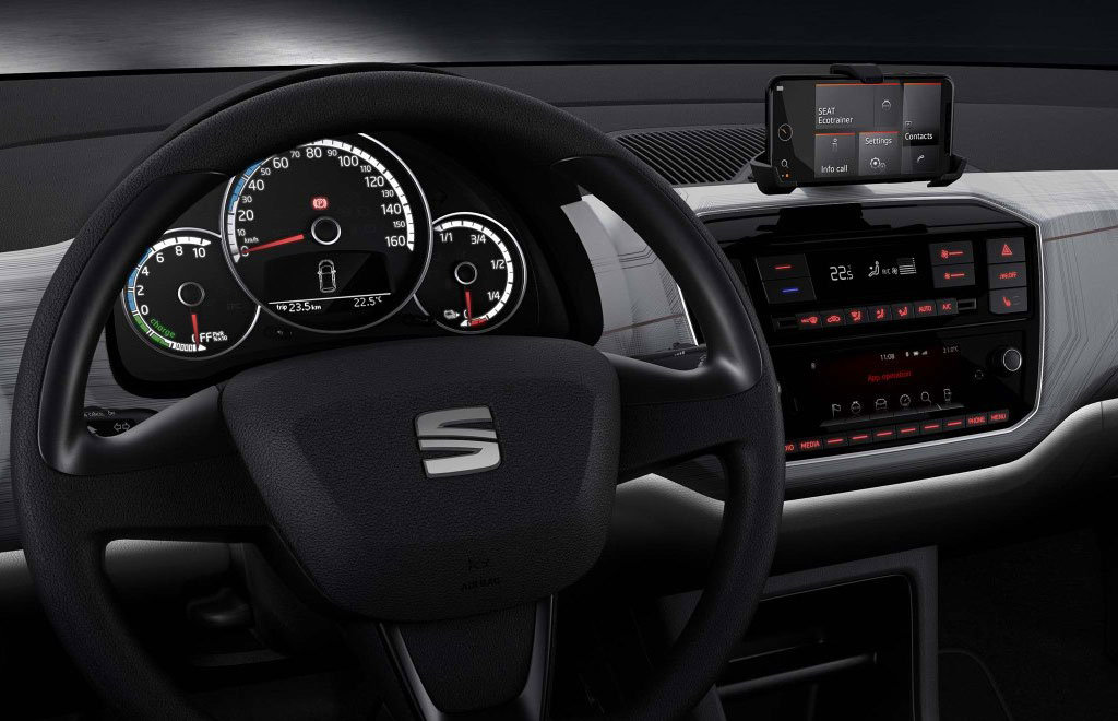 SEAT Mii Electric - Dashboard